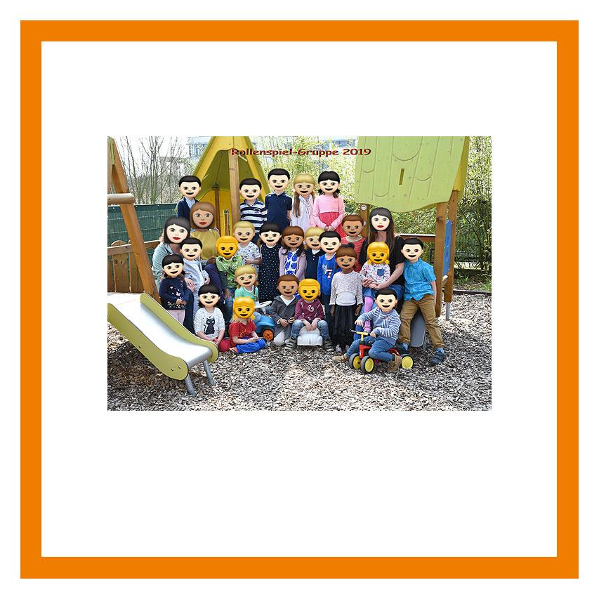 """""""Outdoor-Aufnahme im Kindergarten"""""""