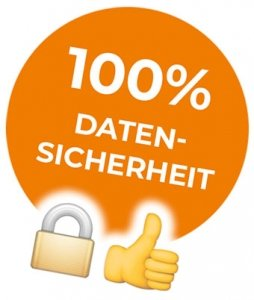 """100% Datensicherheit im Onlineshop"""