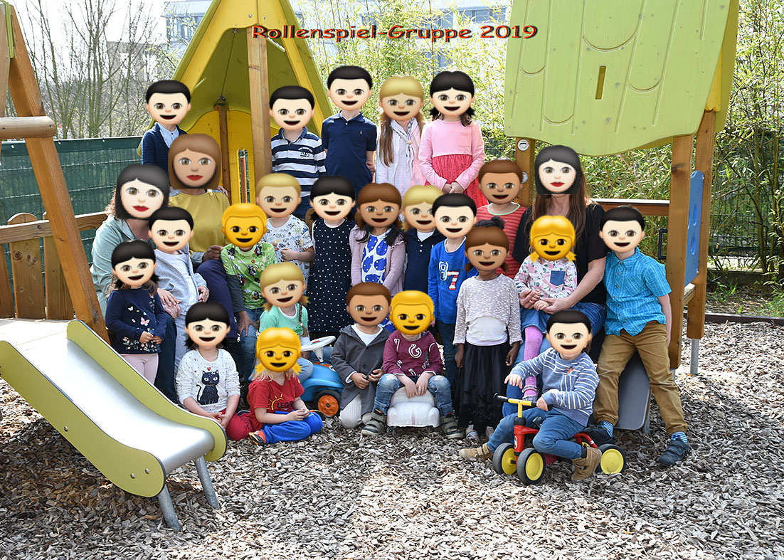 """""""Gruppenbild im Kindergarten"""""""